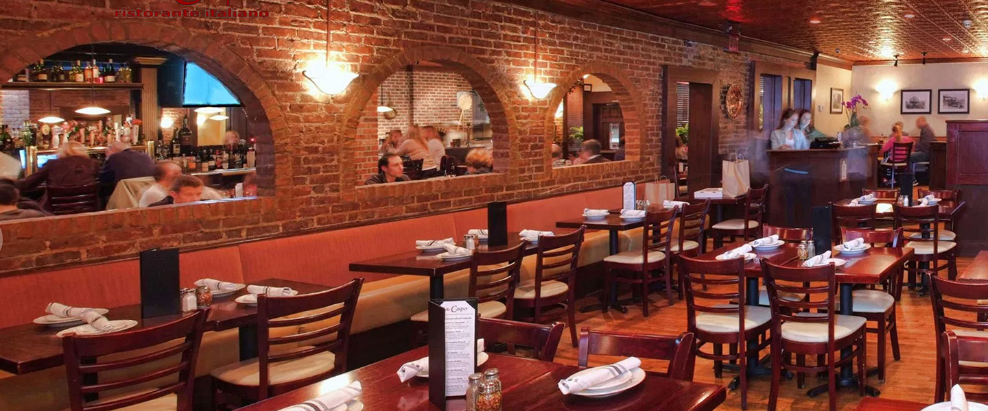 If You Plan To Eat Out With A Group Da Capo Ristorante Italiano Is The Place Go This Clic Italian Restaurant Serves Etizers Salads And Pasta